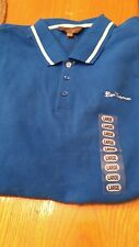 Mens L Ben Sherman Pullover Shirt Color-Skydiver NWT