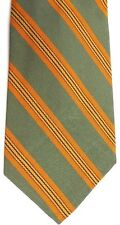 "Sears Men's Vintage Polyester Tie 51.5"" X 4"" Multi-Color American Striped"