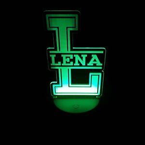 LED- Namenslampe