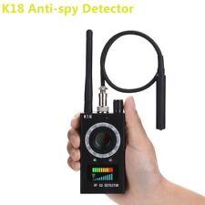 K18 Bug Anti-spy Detector Camera GSM Audio Bug Finder GPS Signal Lens RF Tracker