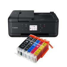 Canon Pixma TR7550 DRUCKER SCANNER KOPIERER WLAN FAX+ 5 XXL TINTE NEU