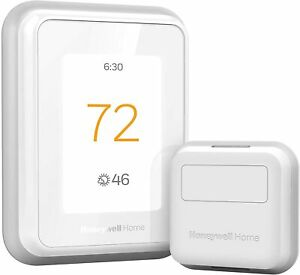 Honeywell Home RCHT9610WFSW2003 T9 WiFi Thermostat with 1 Smart Room Sensor