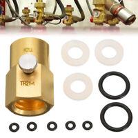 CO2 Adapter Kit For Filling Sodastream Soda Club Water Sprinkler TR21-4 to W21.8