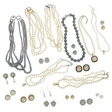 50 piece Lot Erwin Pearl Necklaces and Earrings Gorgeous Quality