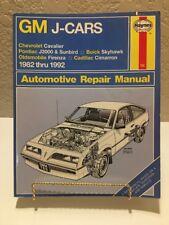 Used - General Motors J-Cars Automotive Repair Manual: 1982 Through 1994