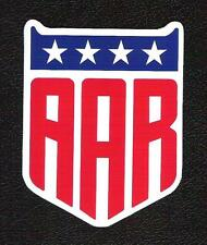 AAR Dan Gurney's All American Racers Sticker, Vintage Sports Car Racing Decal