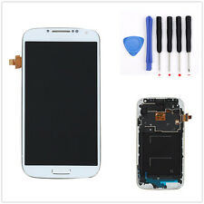 Full LCD Touch Screen Glass Digitizer Frame Assembly For Samsung Galaxy S4 i9505