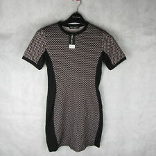 Select Fashion Jacquard Pannelled Casual Stylish Dress Size 8