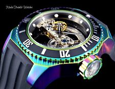 Invicta 52mm Russian Diver Ghost AUTOMATIC Skeletonized Dial Iridescent Watch !