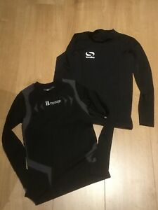 BOYS ACTIVEWEAR CYCLING SPORTS TOPS, BARELY WORN, AGE 9/10