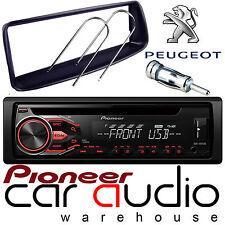 PEUGEOT 206 PIONEER CD MP3 USB AUX per Stereo Auto Radio Lettore & completo kit di montaggio