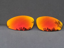 Orange Red Mirrored Replacement Lenses for-Oakley Juliet Polarized