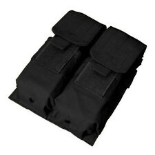 Condor Double M4 Mag Pouch For .223 & 5.56 Magazines - Tactical Molle - BLK- MA4