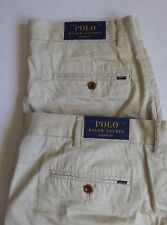 NEW Polo Ralph Lauren Mens Chino Shorts Classic Fit 9'' Inseam Khaki 42 $55