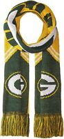 Forever Collectibles NFL Reversible Stripe Scarf - Green Bay Packers Winter Knit
