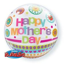 "Happy Mothers Day Dots & Patterns 22"" Qualatex Bubble Balloon"
