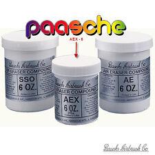 Paasche aex-6 Abrasive Composto 510g Aluminum Oxide AIR gomma SAND Blast hs-178