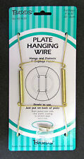 """Tray and Platter Hanger, Plate Hanging Wire, Displays Plates 8""""-10"""" in diameter"""
