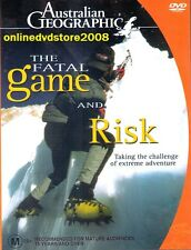 The FATAL GAME & RISK - Australian GEOGRAPHIC - EXTREME Adventure DVD NEW SEALED