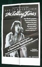 Ladies Gentlemen Rolling Stones Movie Poster 24x37