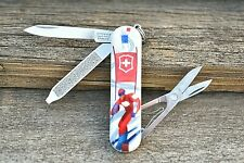 Victorinox Classic Sd Ski Race Original Swiss Army Knife New! Authentic!