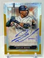 Jaylin Davis 2020 Topps Five Star Gold On Card RC Auto SSP /10 #FSA-JV Giants