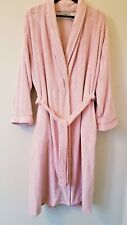 ADONNA Long Warm Pink Belted Wrap Pockets Robe XL NEW