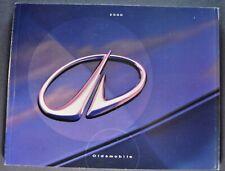 2000 Oldsmobile Brochure Alero Intrigue Aurora Silhouette Bravada Excellent Orig