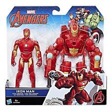 IRON MAN CON ARMATURA 15CM Marvel Avengers B9940-C0479 HASBRO -nuovo-Italia