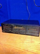 Pioneer Stereo Double Cassette Deck CT-W350R