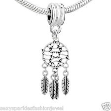 Dream Catcher Charms fit European Charms Beads bracelets
