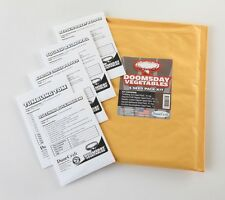 Doomsday Terrarium Seed Packets