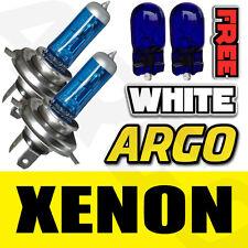 VOLKSWAGEN BORA XENON SUPER WHITE 55W 472 HEADLIGHT BULBS H4 501 T10 SIDELIGHT