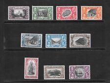 St Helena 1934 Centenary set 1/2d-10/- mint