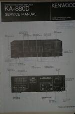 Service Manual für Kenwood KA-880D