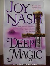 Joy Nash*Deep Magic*#3 Druids of Avalon-Historical Romance Fiction-more in store