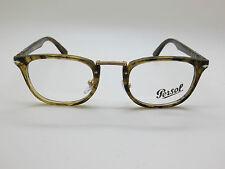 New PERSOL 3126-V 1021 Typewriter Edition Brown Havana RX 50mm Eyeglasses