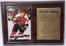 Philadelphia Flyers Eric Lindros Hockey Card Plaque