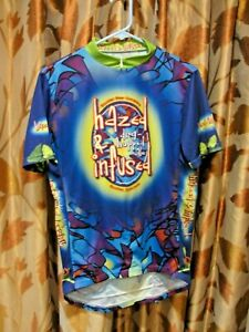 Boulder Beer Co HAZED & INFUSED Cycling Jersey ~ Large ~ EUC