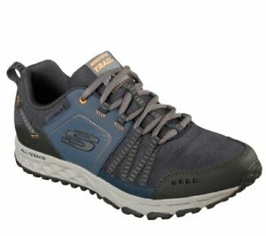 Skechers Men's Escape Plan Sneakers 51591 Navy/Orange