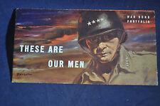 WW2 These are Our Men War Bond Portfolio by Parker Watches