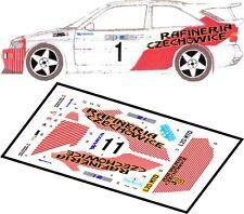 DECALS 1/43 FORD ESCORT WRC  #1 - PRZYBYLSKI - RALLYE KRAKOWSKI 1995 - D43022