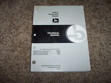 John Deere 230Lc 230 Lc Excavator Technical Repair Service Shop Manual Tm1666