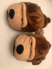 Adult Children Furry Animal Slippers Soft Plush Novelty Bear 36-37 Uk 4 Medium