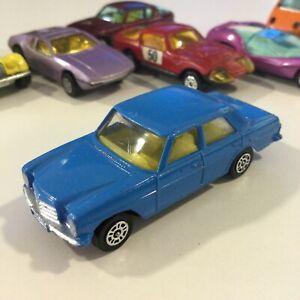 VINTAGE CORGI JUNIORS JR BLUE MERCEDES BENZ 240 D NM/M 1:64 GT BRITAIN