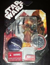 STAR WARS JAWA & LIN DROID 30TH ANNIVERSARY #19 ACTION FIGURE + COIN NEW RARE