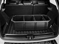 Ablage box original Mercedes Benz Kofferraum Staubox Transport Box +Trennelement