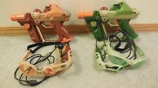 LOT OF 2  PAIR TIGER ELECTRONICS Team OPS LAZER TAG  GUN & GOGGLE SET