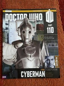 Dr Who Figurine Collection 110 Cybus Cyberman Magazine Only