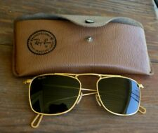 VTG Ray-Ban Sunglasses Gold Tone Frame With Case